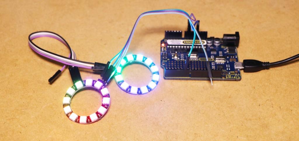 Arduino – RGB LED Ring – Hobby Electronics