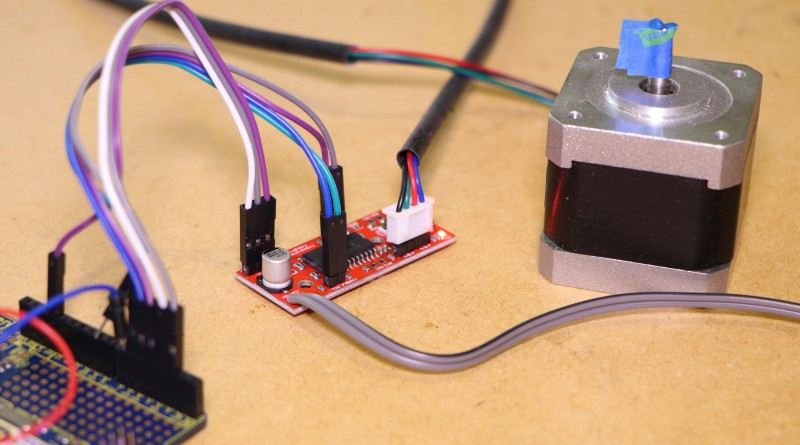 Arduino – Stepper Motor Control – Hobby Electronics